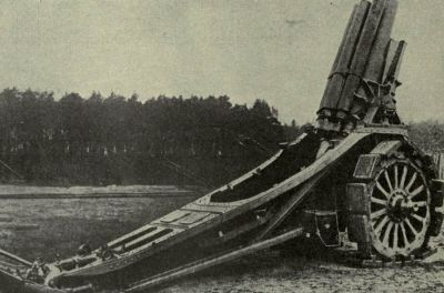 Krupp Siege Howitzer