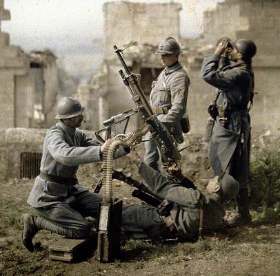 WWI gun